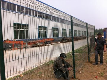 protection fence / artistic mesh fence / welded wire mesh fence panels in 12 gauge