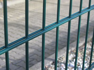 Twin Wire Fence with Double Wire and Rebound Mesh, Used in Corporate/College Campuses/Playgrounds
