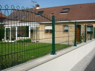 Good Quality Chain Link Fence & Turkish Decorative Pyramid Fence/Decor Fencing on sale