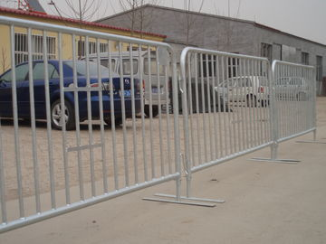 Good Quality Chain Link Fence & Flat foot detachable model crowd control barrier For Sale Australia Market ,Hot Dipped Galvanized on sale