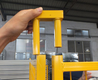 "Construction Security Temp Fence Panels 6ft x 10ft 1830*3050mm Spacing 4""x12'(100mm*300mm) Akzol Powder Coated 25mm*1.6"