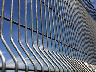 Good Quality Chain Wire Fence & Clearvu Security Fence ,High Security 12.70mm x 76.20mm x 4.00mm wire ridity panels on sale