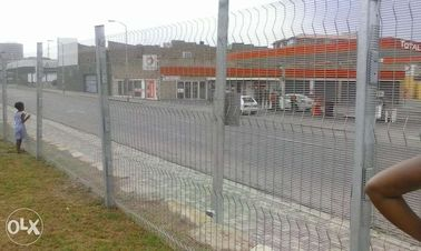 South Africa security Clearvu Fence with spikes / ClearVu Security Fencing