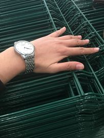 Nylofor 3D Curved low cost wire mesh fence for warehouse