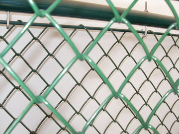 PVC coated sports field chain wire fence ,chain mesh fence