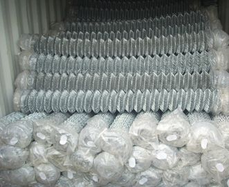 china supplier barbed wire chain link fence, stainless steel chain link fence