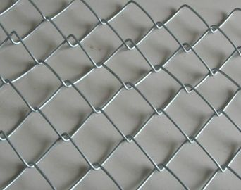 China PVC Coated Chain Link Fencing Chain link Wire Mesh Fence factory