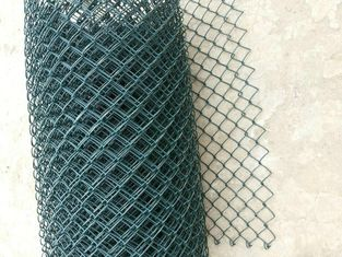 Good Quality Wire Mesh Fence & 65x65 mm plastic pvc coated chain link wire mesh fence on sale