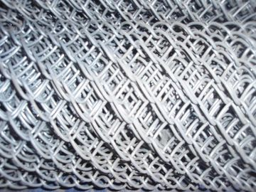 Hot - Dipped Galvanized Iron Wire Chain Link Fences 2'' / 11.5GA