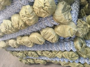 Good Quality Chain Wire Fence & cyclone residential chain link fabric hurricane fence on sale