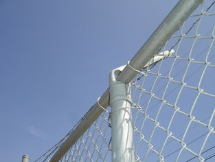China galvanized chain link fence(diamond wire mesh)/pvc coated chain link fence factory
