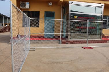 China construction siteTemporary Chain Link Fencing & Temp Fence Panels for the USA factory