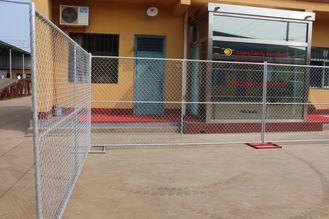 construction siteTemporary Chain Link Fencing & Temp Fence Panels for the USA