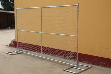 Good Quality Wire Mesh Fence & wholesale galvanized temporary chain link fencing with cross brace on sale