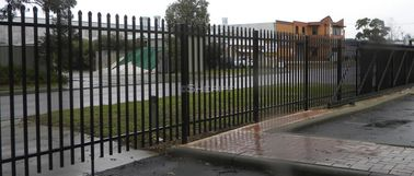 garrison Fence Steel Tubular 2100mm x 2400mm spear 25mm x 25mm