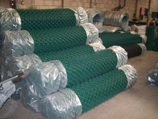 High Quality Galvaznied Reasonable Price PVC Coated Chain Link Wire Mesh Fence
