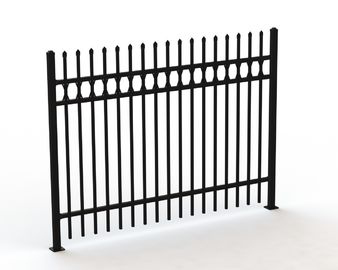 Tubular Steel Fence design, customized tubular fencing for sale
