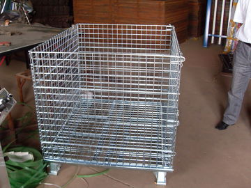 China collapsible wire mesh containers factory