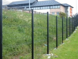 China 3D Mesh Fence Panels used Nylofor 3D fence with powder painted smooth surface 2030mm x 2500mm factory