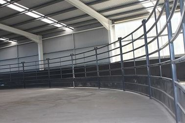 30X60mm Oval Pipe Cattle Livestock Yard Panel