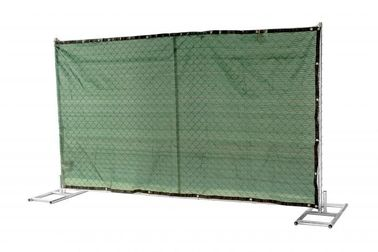 "China 1½""(38mm) 1⅗""(40mm) 1⅝""(42mm) 1⅞"" tubing 6'x12' cross brace 16 ga thickness mesh 2¼""x2¼""(57mmx57mm) temporary fence factory"