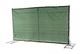 "1½""(38mm) 1⅗""(40mm) 1⅝""(42mm) 1⅞"" tubing 6'x12' cross brace 16 ga thickness mesh 2¼""x2¼""(57mmx57mm) temporary fence"