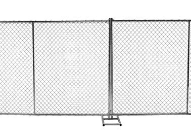 "China Temporary Construction Fence ASTM A392-06 Standard 8ft x 12ft 1½""(38mm) x 1.6mm wall thick mesh 60mm*60mm factory"
