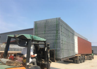 China temporary chain link fence panels 6'x12' construction fence mesh spacing 60mm x 60mm x 2.70mm factory