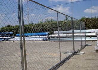 "8'x12' tubing 1⅜""(35mm) x 16ga thickness chain link us standard temporary fencing 13ga/2.3m diameter"