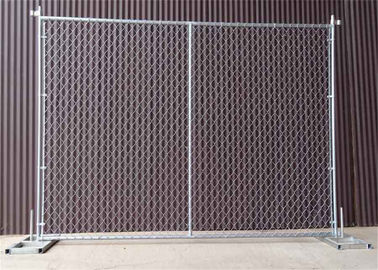 "8'x12' chain link fence panels for constructions frame tubing 1½""(38mm) x 1.60mm thick mesh aperture ) 2⅜""(60mm) x11.5g"
