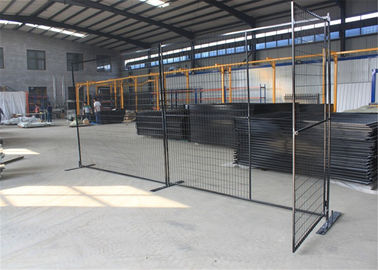 6'x9.6'  Construction Security Temp Fence Panels Tubing 30mm*30mm brace 20mm*20mm Powder Coated Red