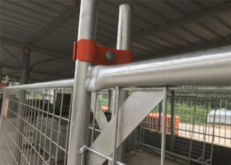 AS4687-2007 Standard China Temporary Fence 2100m x 2400mm Mesh Opening :60mm x 150mm