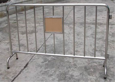 Hot Dipped Galvanized Crowd Control Barriers Smart Design, Crowd Control Barricade
