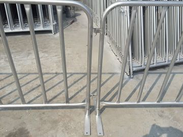 US standard Crowd Control Barrier 4'x8.6' Flat Steel Base