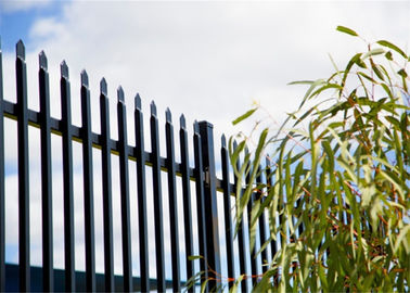 Spear Top Garrison Fence,Steel Tubular Fence China Honest Manufacturer