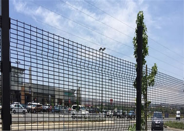 High Density 358 Prison Wire Fence High Security ,Top With Razor For Africa Market