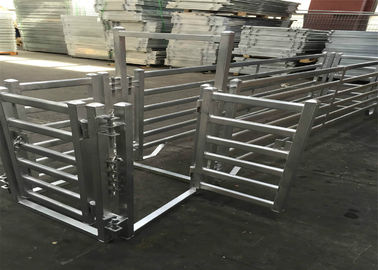 China Heavy duty galvanized livestock cattle panel used corral panels factory
