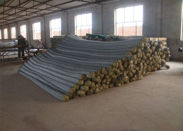 Galvanized Steel and PVC Coated Galvanized Steel Chain Link Fence Netting