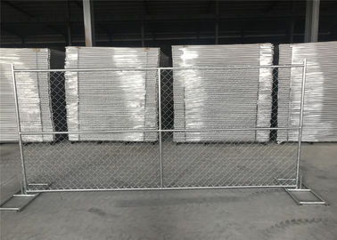 China Wholesale 6'*12' temporary perimeter security chain link fence for sale factory