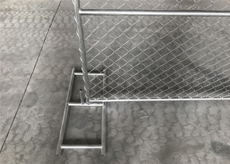 chain wire portable panel fence/American model 6'x12' temporary chain link fence for yard