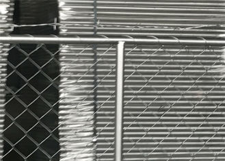China 6'x12' temporary construction fence panels tubing 41.2x2.0mm wall thick mesh 57mmx57mm x 11ga dia factory