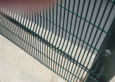 China 358 mesh Fence High-Security Clearvu Fencing, Anti Cut, Climb Available V beams, Customized hIGH-SECURITY wire fence factory