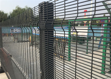 China Clearvu Security Fence For Prison And Power Stations,Oil Field,358 Mesh Fene ,Anti Cut ,Anti Climb Made In China , factory