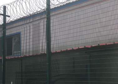 China Securifor 358 wholesale barbed wire on top for Ultra 358 mesh security fencing(China manufacture) factory