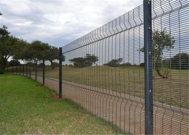 "China 358 Security fence 3"" x 0.5"" ,12.70mm x 76.20mm x 4.00mm hot dipped galvanized factory"