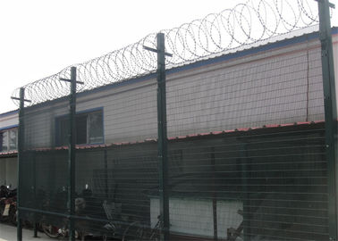 China 12.70mmx76.20mm*4.00mm wire diameter 358 high security mesh fence factory