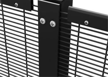 China PVC Coated 358 Security Fence Prison Mesh Price / 358 Security Fence / 358 High Security Fence factory