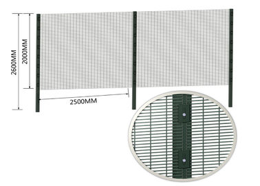 High Security Anti Climb-Cut Intruders Wire Fence Clearview Fencing Wall