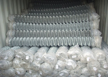 "Zinc coated galvanized steel chain link fence fabric 5/8""x5/8"" 9GA/3.66mm 11GA/2.95mm 4ft x 50ft"
