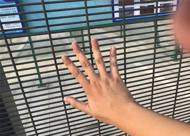 China small Aperture 358 High Security Welded Wire Mesh Fence Security Application factory